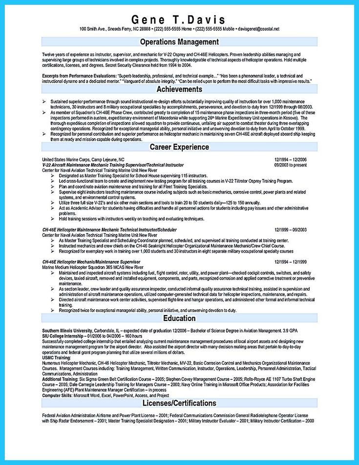 cool Writing Your Great Automotive Technician Resume, Check more - maintenance mechanic resume