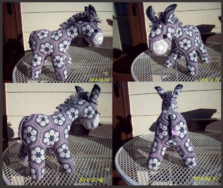 """african flower pony (looks like jackass to me, I love it!) ~ No content found on this """"page """"."""