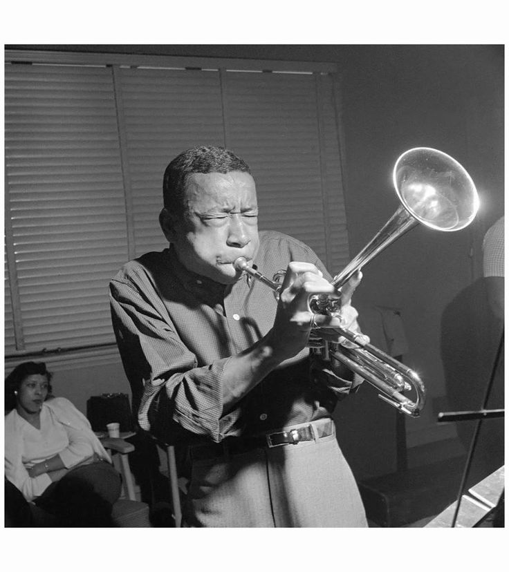 Lee Morgan in the RVG Bergenfield NJ studio by F. Wolff