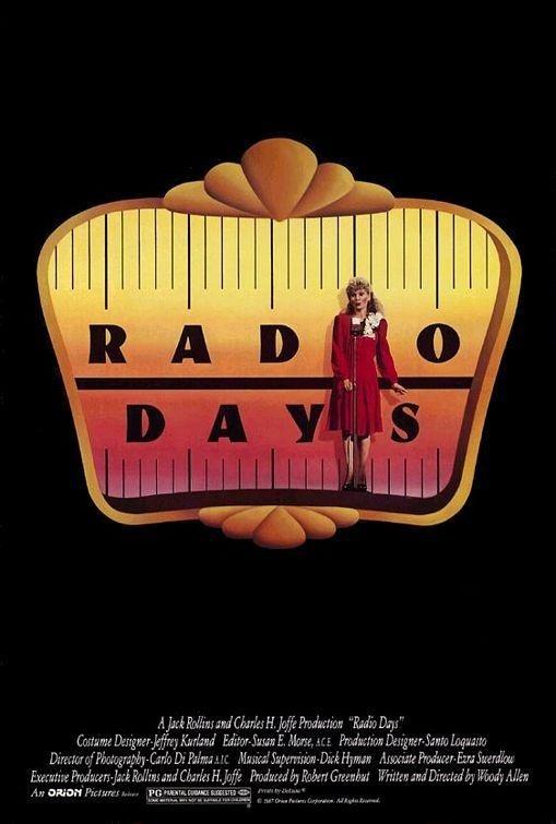 Días de Radio   Año: 1987  Director: Woody Allen   http://pics.filmaffinity.com/Dias_de_radio-841926898-large.jpg
