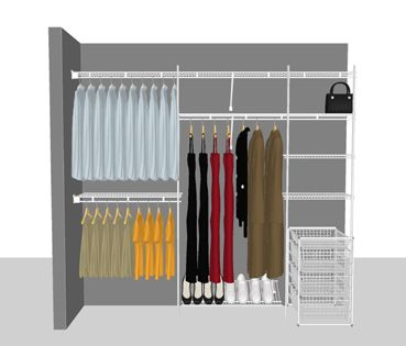 View Our Helpful Guide And Design Your Very Own ClosetMaid Storage Solution