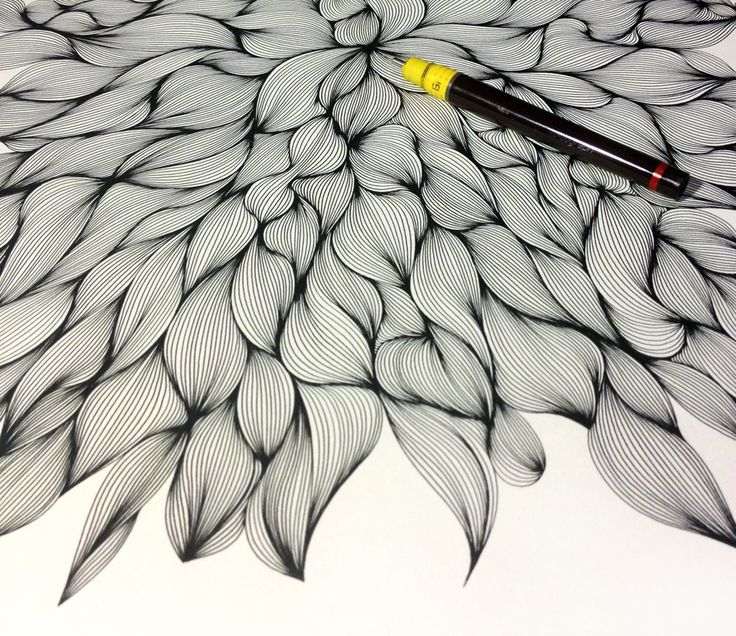 how to draw tree bark patterns