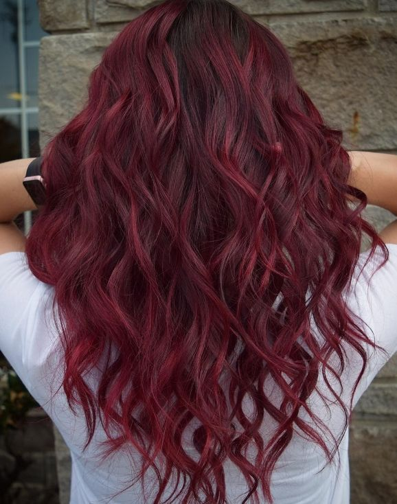 Wine Colors For Winter 2019 Red For Winter Red Hair Colored