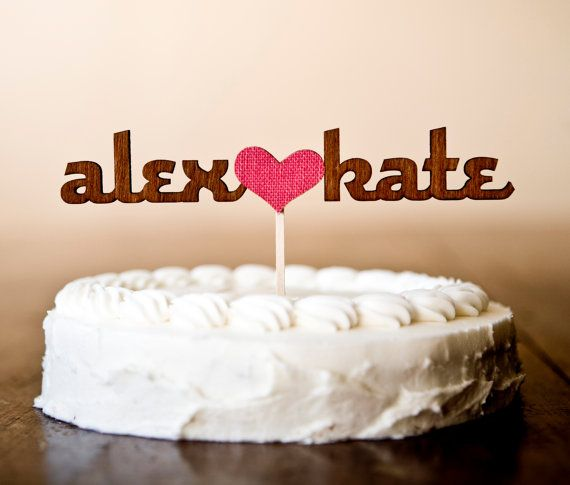 Cake topper (that could be used after the wedding too)