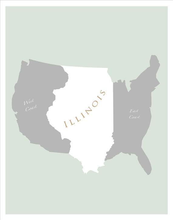 Best Illinois Images On Pinterest Illinois Illinois State - Illinois on the map of usa