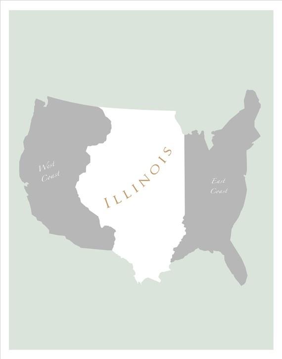 Best Illinois Images On Pinterest Illinois Illinois State - Usa map illinois