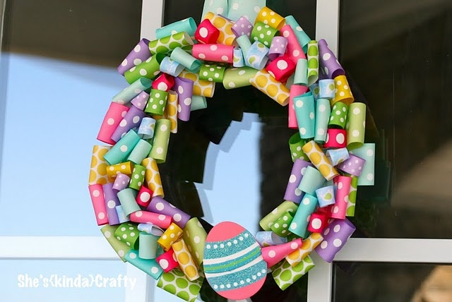 Easter Ribbon Wreath: Dresses Up, Ribbons Maniac, Ribbons Wreaths, Spring Parties, Easter Crafts, Easter Decor, Easter Wreaths, Easter Ribbons, Easter Ideas