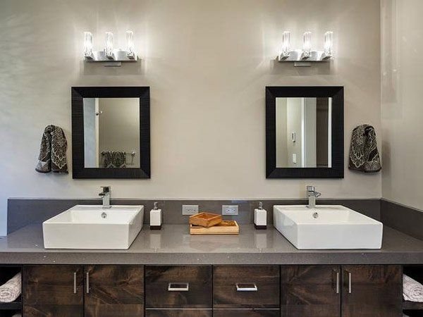 20 Classy And Functional Double Bathroom Vanities In 2020 Shabby