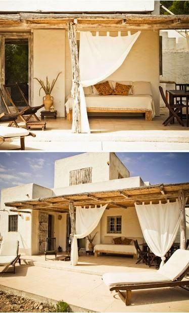 cama,porche,casa,madera,textil,
