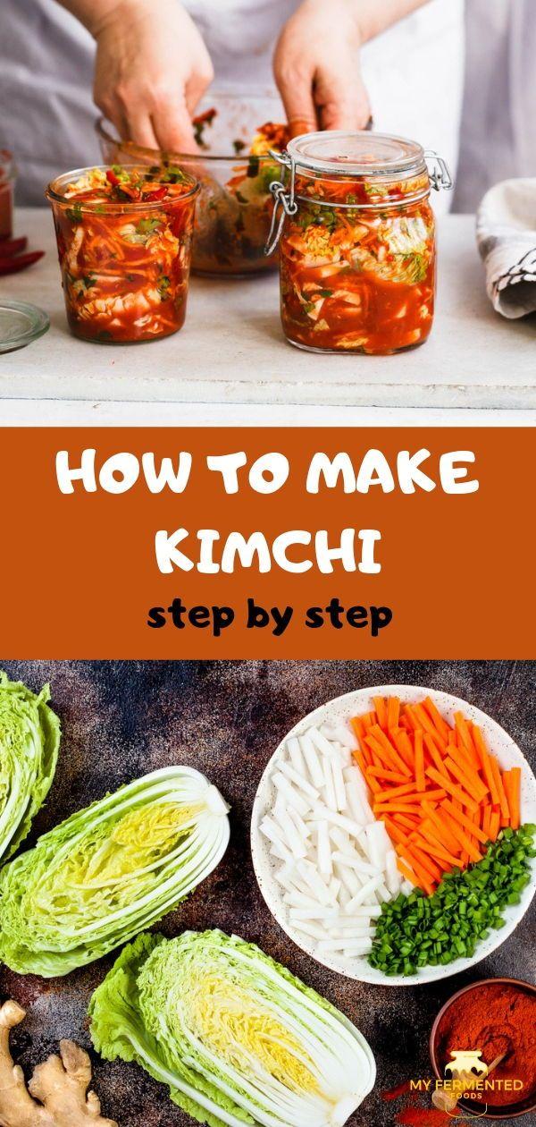 Kimchi Recipe Kimchi Recipe Fermented Vegetables Recipes