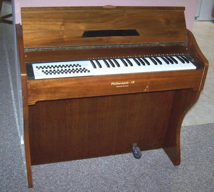 CRUCIANELLI Roxy Organ Accordion Electric Philharmonic IX Concerto Deluxe Italy #Crucianelli