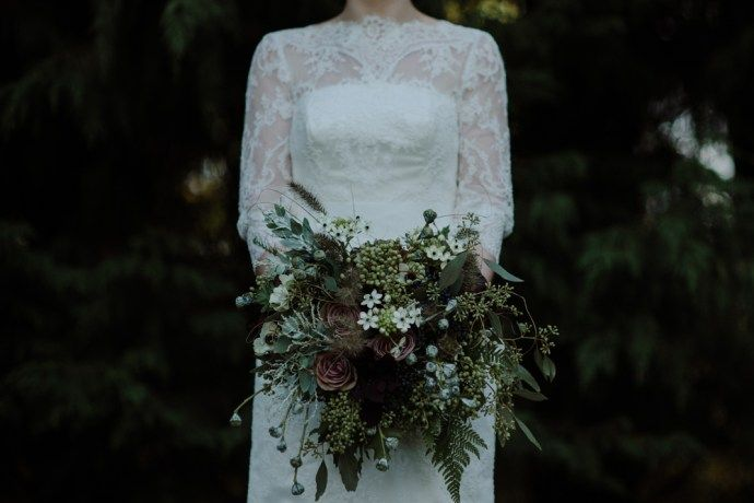 Beautiful hand crafted wedding flowers in Scotland
