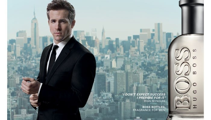#BOSSBOTTLED: Erfolg macht #sexy. #Ryan Reynolds im » Point-Rouge Magazin