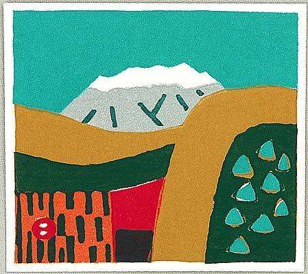 Umetaro Azechi 1902-1999 - Mountains