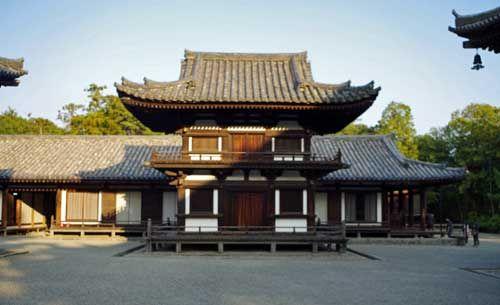 Toshodaiji Temple, Nara, Japan.