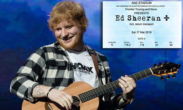 SCAM ALERT – UK – ED SHEERAN CONCERT TICKET SCAM ALERT – Thousands of fans are set to be left disappointed next week after being conned into buying fake or doctored concert ...