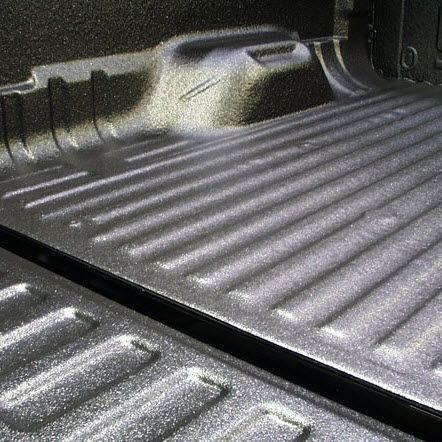 #Sprays On, Stays On- Spray on bedliners offer comprehensive #protection for your truck bed.Better than mats, spray on liners are easy to clean and hold up under serious pressure. They also come in custom colors and textures to keep your truck looking sharp.