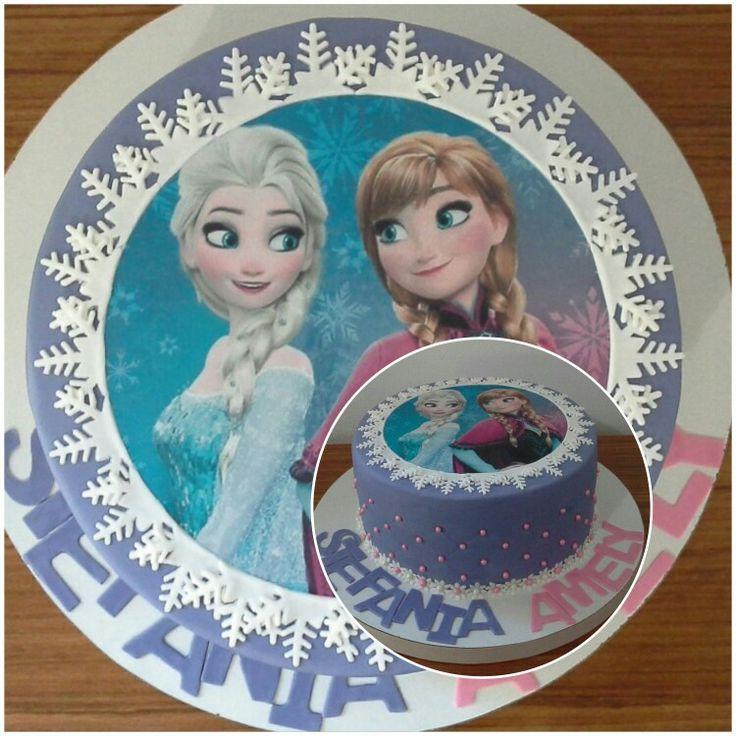Tort Ana si Elsa