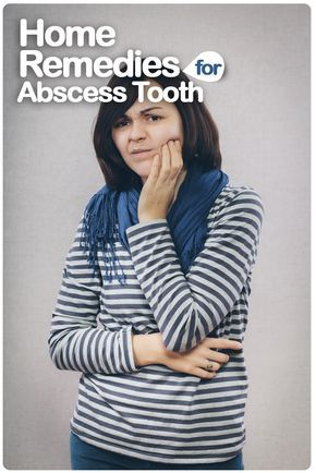 Home Remedies For Abscess Tooth Tooth abscess is the infection spread to the inner layers of tooth when a cavity or caries left untreated. It is caused due to the entrance of foreign substance into the tooth through chipped or cracked tooth or weak enamel and spreads to root tip causing pain, inflammation or pockets of pus. #Abscesstooth