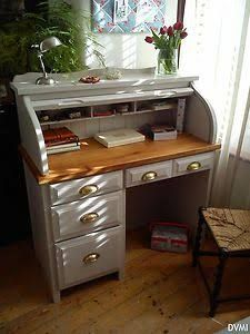 Small Rolltop Desk Shabby Google Search