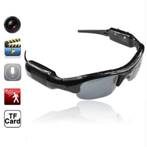 Dijital Kameralı Güneş Gözlüğü HD Gözlük