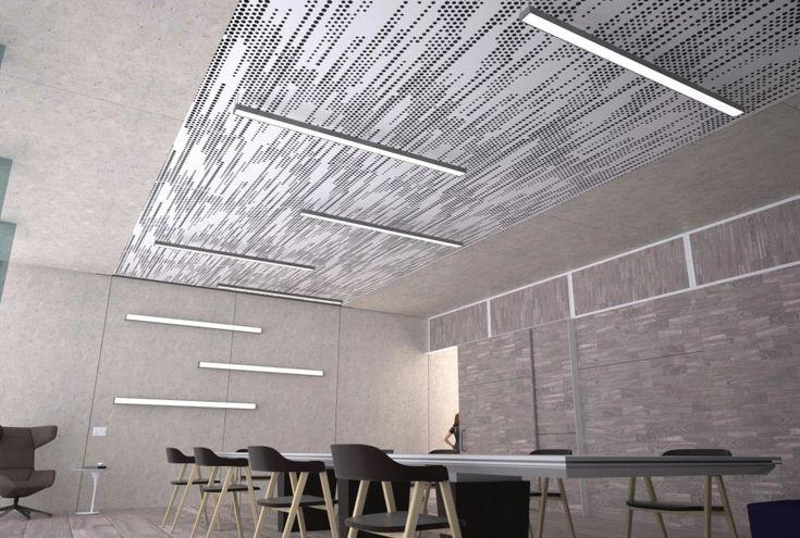 Vapor trail ceiling system arktura finishes