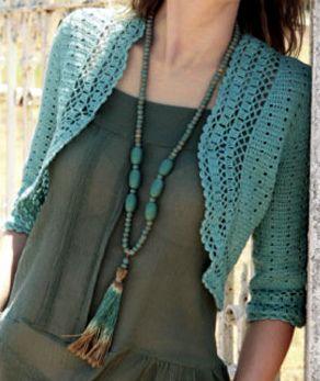 Crochet Bolero by eclectic gipsyland, via Flickr