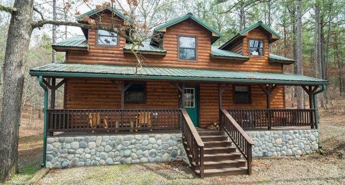 495 Steph S Secret Cabins In Broken Bow Cabins In Broken Bow Cabin Hot Tub Outdoor Indoor Wood Burning Fireplace