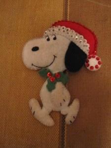 felt Snoopy