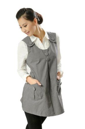 Anti-Radiation Shield Maternity Dress For Reducing EMF Exposure, One Size, Grey, Colthes:8903185 OURSURE.COM. $69.96