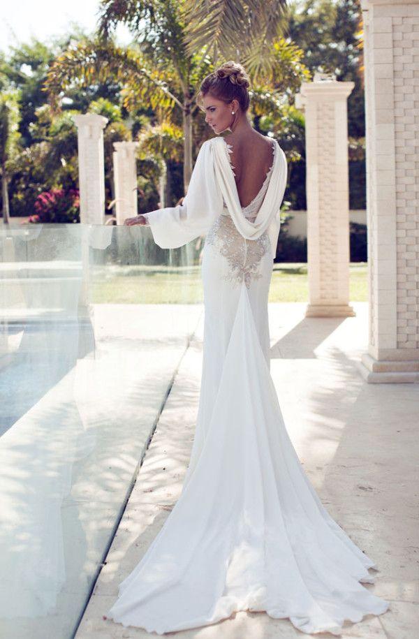 Nurit Hen Wedding Dresses 2014 #bride #bridesdress #bridal #wedding…