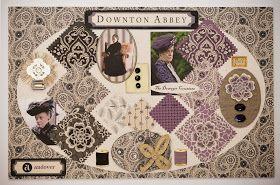 Dear Edna: Downton Abbey Fabric Collection