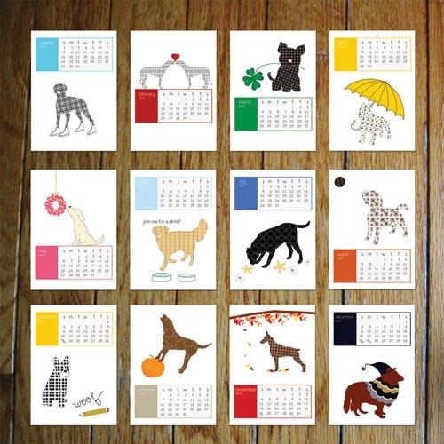 Calendar: Home Planners, 2012 Calendar, Dogs Ideas, Dogs Learning, Graphics Design, Prints Calendar, Calendar Design, Dogs Calendar, Dogs Blog