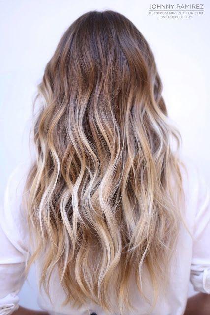 Cute Ombre Ash Blonde