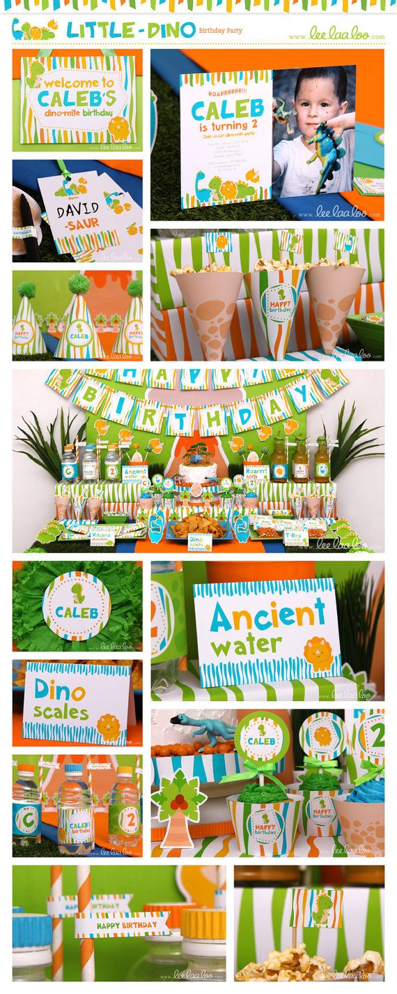 ♥ Little Dino Birthday Party Theme ♥ II Shop Here: https://www.etsy.com/shop/LeeLaaLoo/search?search_query=b102&order=date_desc&view_type=gallery&ref=shop_search II Party Styling: LeeLaaLoo - www.leelaaloo.com II Party Printable Design & Decoration: LeeLaaLoo - www.etsy.com/shop/leelaaloo