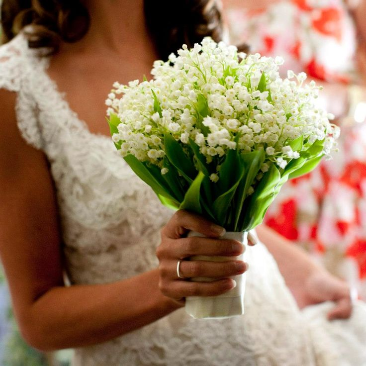 Morlotti Studio - Sweetness of the bride | Bouquet - lily of the valley #wedding #bouquet #calla #lilly #bride