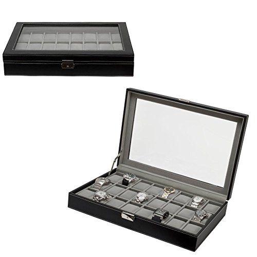 https://zenmerchandiser.com/shop/large-black-leather-24-slot-mens-watch-box-jewelry-case-organizer/