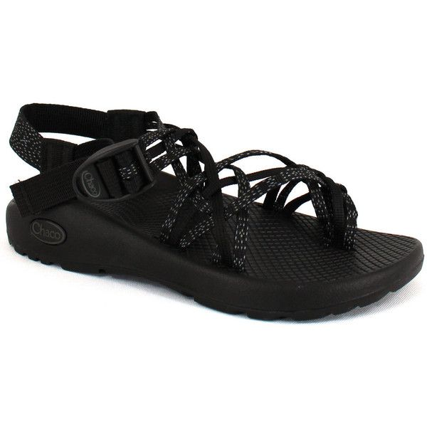 Chaco Women's Zx/3 Classic Xoxo Black - 7 M Women's Shoes ($105) ❤ liked on Polyvore featuring shoes, black, chaco footwear, chaco, chaco shoes, rubber shoes and black rubber shoes