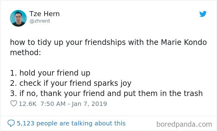 50 Hilarious Reactions To Marie Kondo That Will Bring You Joy