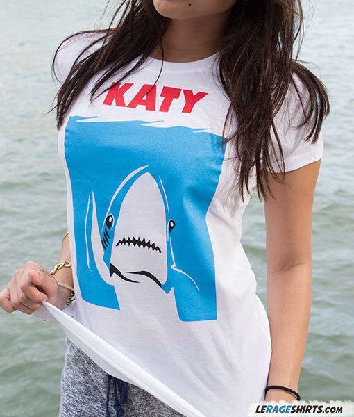 Katy Perry Shark T-Shirt   KATY JAWS   Dancing shark by TrendingShirts on Etsy https://www.etsy.com/listing/221399770/katy-perry-shark-t-shirt-katy-jaws