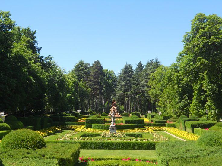 Jardines del palacio de la granja de san ildefonso segovia for Jardines de san ildefonso