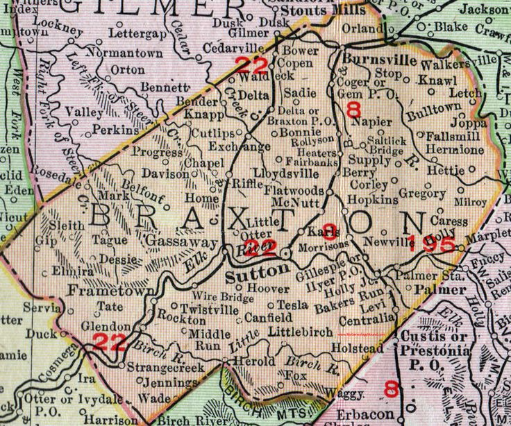 Best Historic West Virginia County Maps Images On Pinterest - Maps of wv