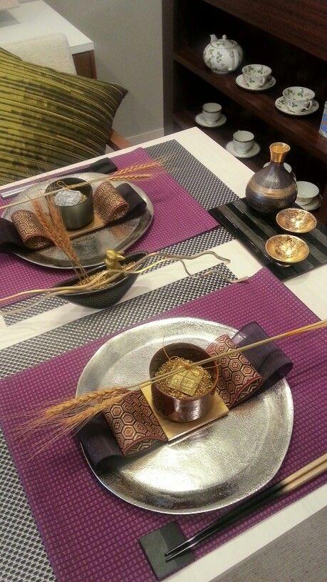 japanese table decor