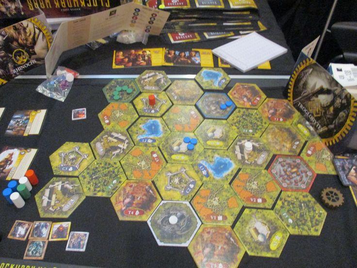 Clockwork Wars and its vast map