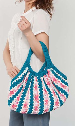 Crochet bag - pattern download. - i have made this bag multiple times and love the outcome, as long as you line it, it is great!
