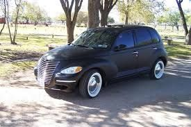 Chrysler PT Cruiser Customized: 08 Bght ths 2replc Buick totld whn Ind.Mdcl Stdnt tried harm me open door. Fouz dlrship sld 2me ths car w. dmgd axle-knwnly.Ran tru set of tires evry 6 mons. Csd lfe thrtng blow out on ntrste.