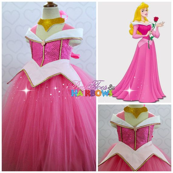 Sleeping Beauty Tutu dress Sleeping beauty Aurora by GlitterMeBaby