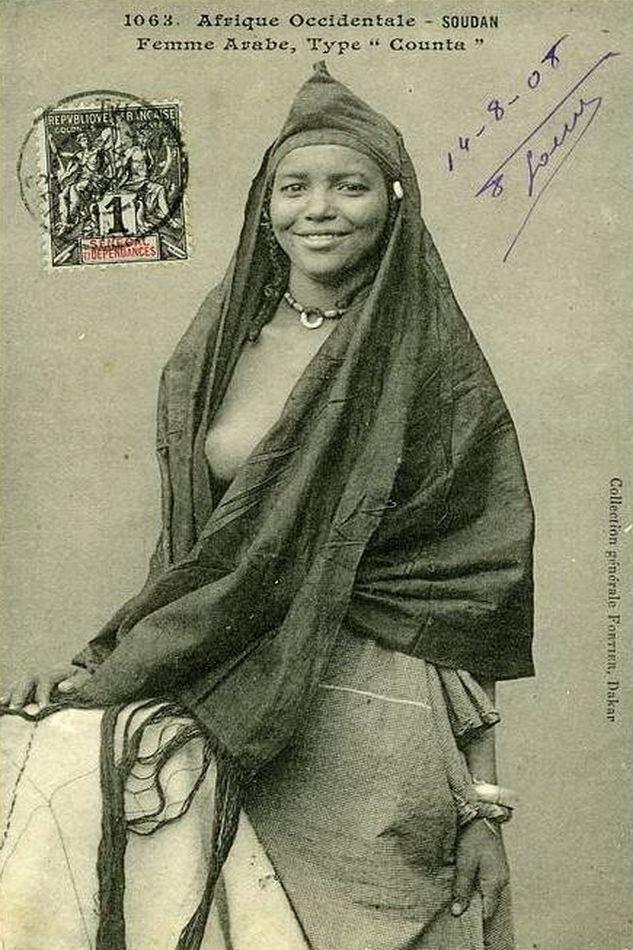 "Femme Arabe, type ""Counta"", 1905"