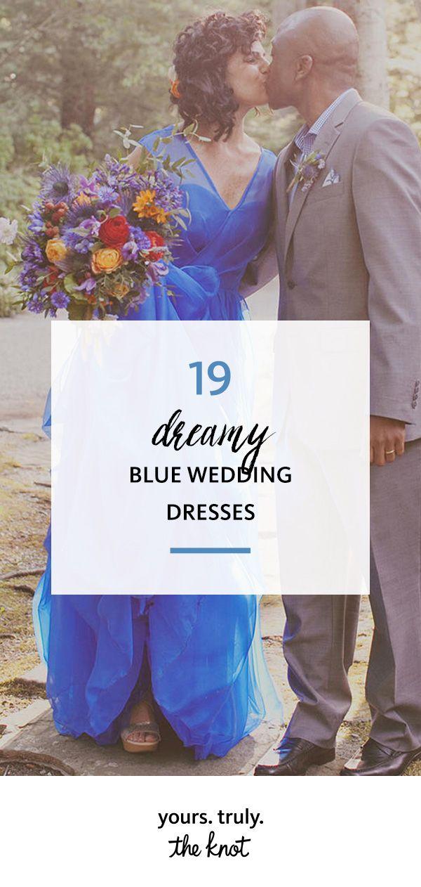 20 Dreamy Blue Wedding Dresses