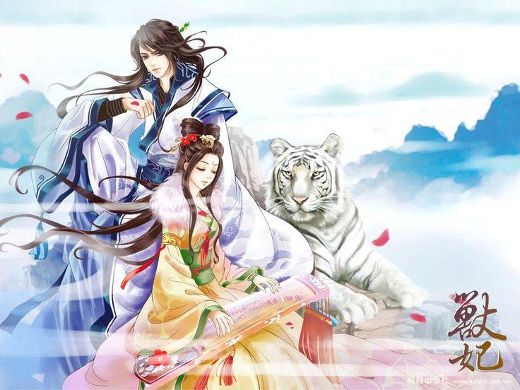 Обои животные тигры красавец белый тигр картинки на